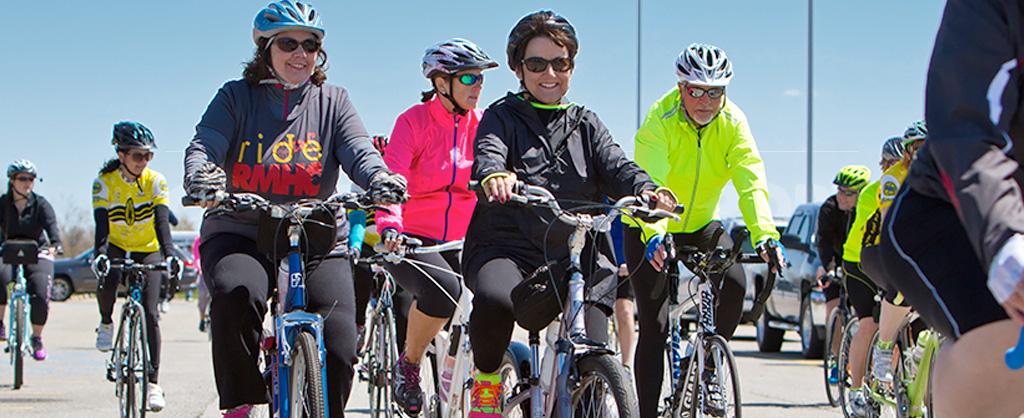 Ladies on Bicycles