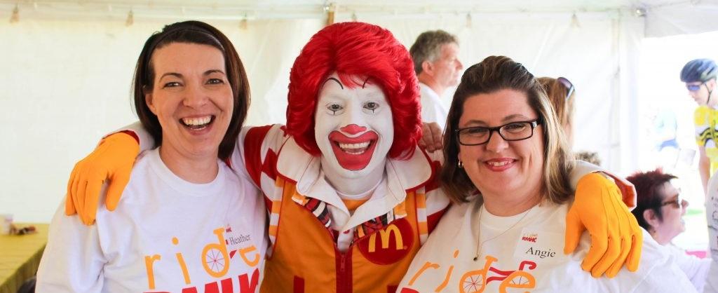 Ronald McDonald hands
